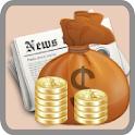 경제통 - 경제뉴스 free icon