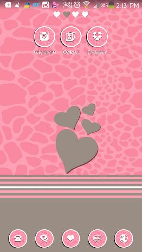 LoveInAutumn Go Launcher Theme