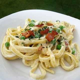 Pasta Carbonara With Cream Cheese Recipes.