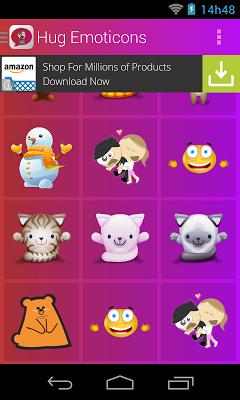 Hug Emoticons - screenshot