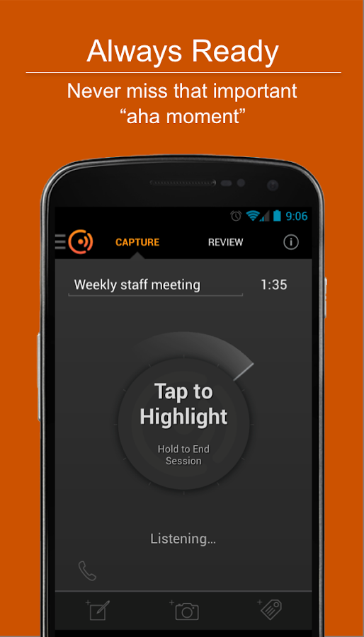 Cogi – Notes & Voice Recorder- screenshot