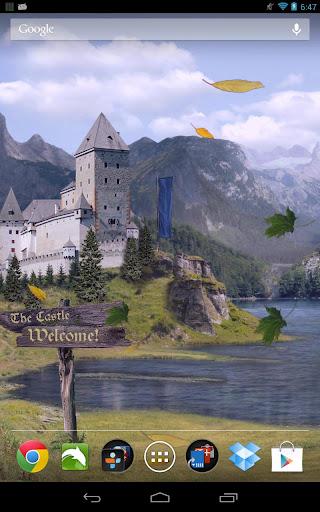 城堡動態壁紙臨