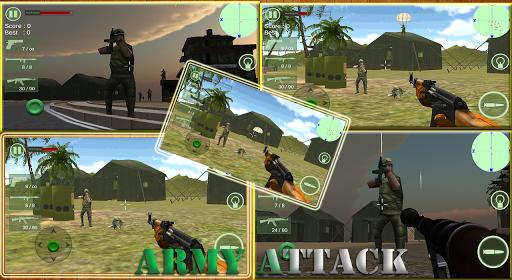 Gunship ArmyBase Shooting