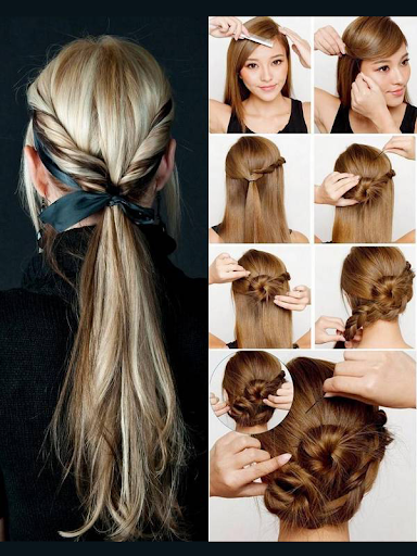 Girls Hairstyle Steps Tutorial