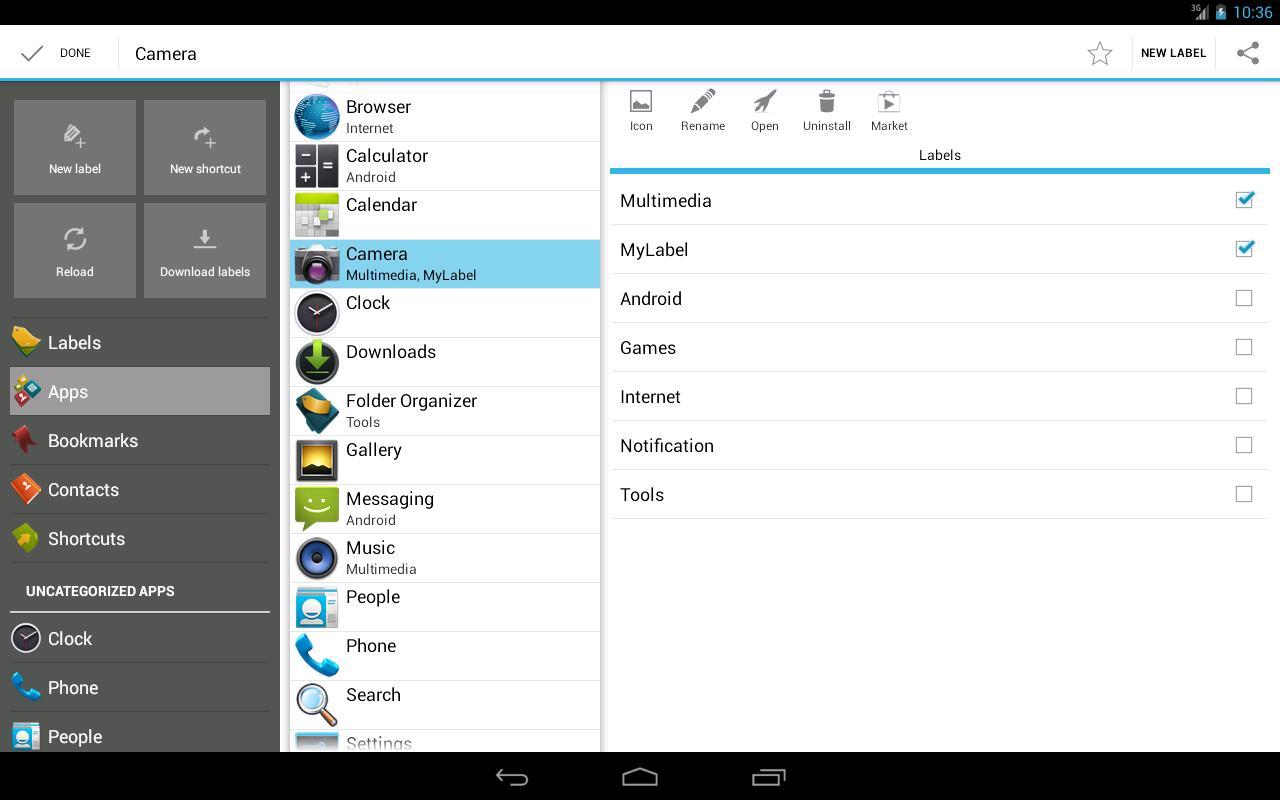 Folder Organizer lite - screenshot