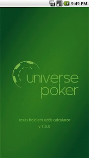 Texas Holdem odds calculator- screenshot thumbnail
