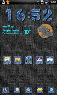Jeans Theme GO Launcher EX - screenshot thumbnail