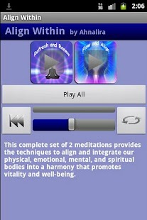 Align Within Meditations - screenshot thumbnail