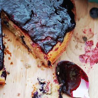 Concord Grape Cake.