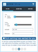Screenshot of Feetr free [filter/RSS reader]