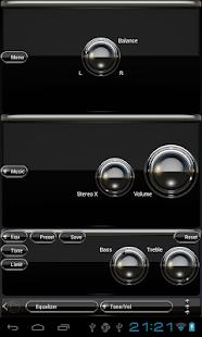 【免費音樂App】poweramp skin black luxury-APP點子