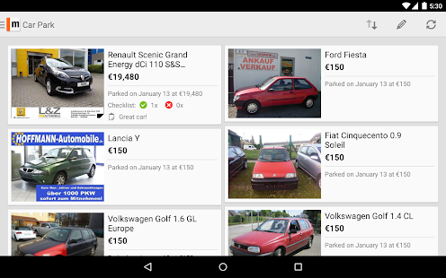 mobile.de – vehicle market - screenshot thumbnail