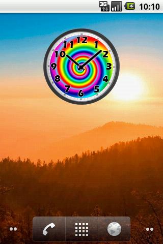 Psychedelic Clock- screenshot