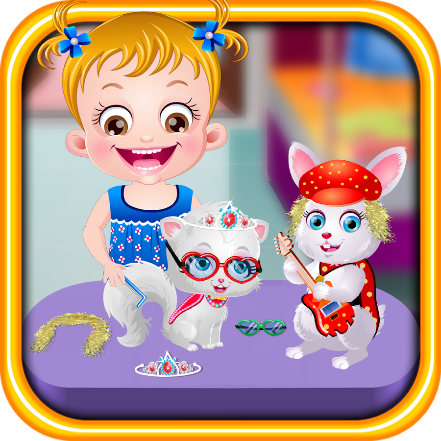 Baby Hazel Pet Party Apl Android Di Google Play