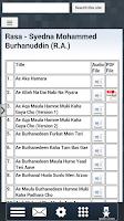 Screenshot of Marasiya Of Dawoodi Bohra