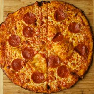Crispy Bar-Style Pizza.