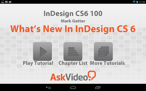 【免費教育App】InDesign CS6 - QuickStart-APP點子