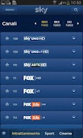 Screenshot of Sky Guida TV