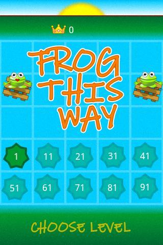 FrogThisWay- screenshot
