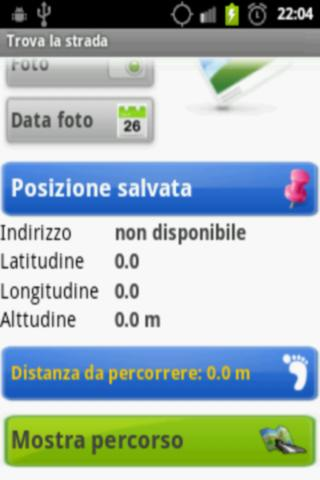 Trova la strada- screenshot