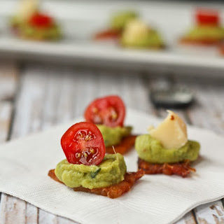 Bacon Guacamole Appetizer (low-carb!)