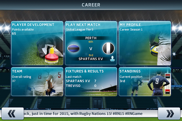 Rugby Nations 15 - screenshot