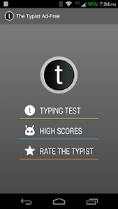 Typist: A Quick Typing Test ++ screenshot 5