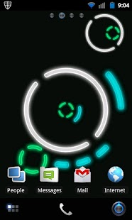 NeonGears Live Wallpaper Basic- screenshot thumbnail