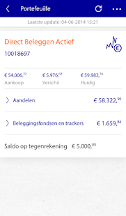 Rabo Beleggen - screenshot thumbnail