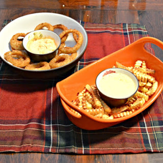 Alexia Fries & Onion Rings with Dips
