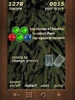 Screenshot of Christmas Baubles Breaker