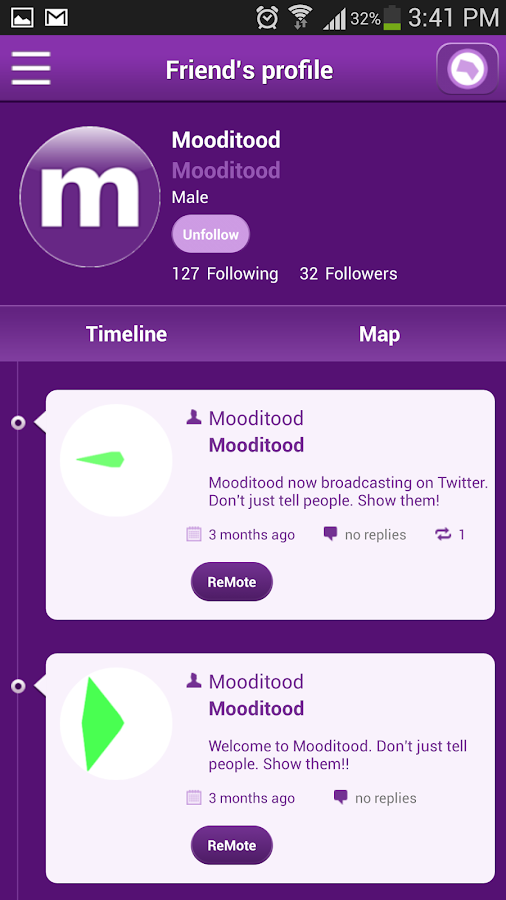 Mooditood- screenshot