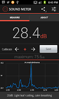 Screenshot of Sound Meter for Android