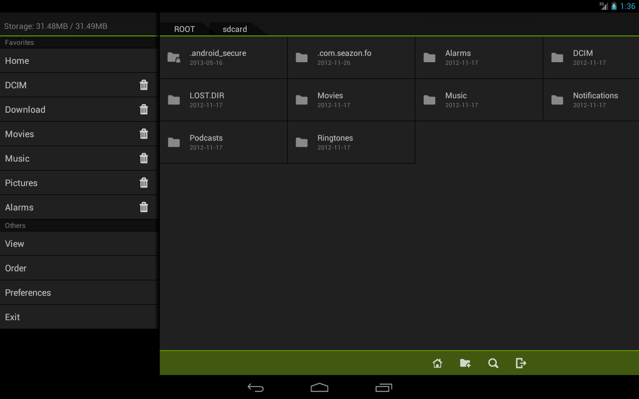 Fo File Manager - screenshot