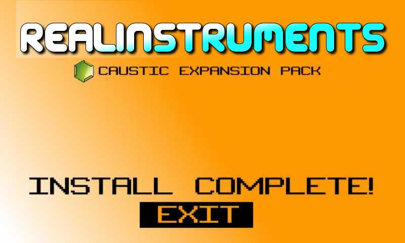Caustic Pack Strings & Keys V1 - screenshot