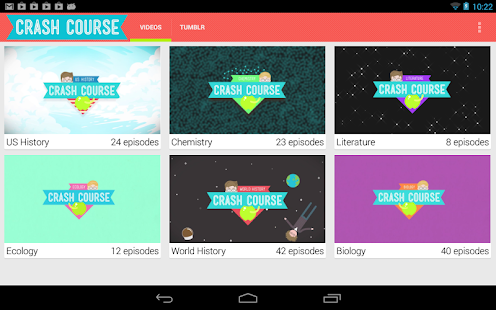 Crash Course Browser - screenshot thumbnail