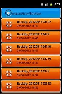 xBackUP- screenshot thumbnail