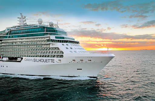Celebrity_Silhouette_sunset - Many sunsets will be on display throughout your journey aboard Celebrity Silhouette.