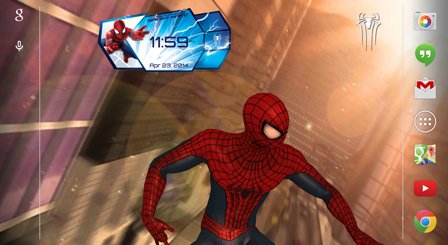 Screenshots of Amazing Spider-Man 2 Live WP for iPhone