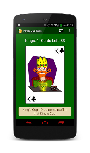 Kings Cup Cast