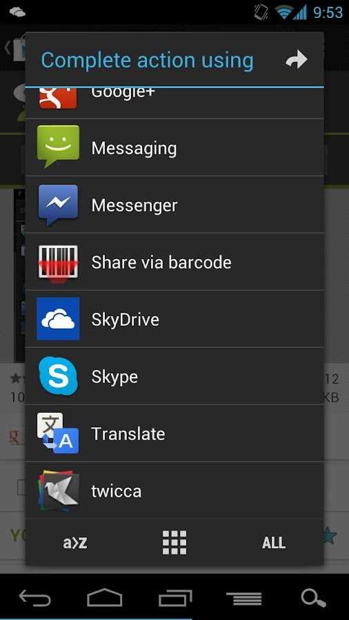 AppChooser Pro- screenshot