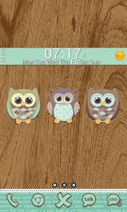 Go Launcher Themes: Hoot screenshot 4