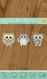 Go Launcher Themes: Hoot - screenshot thumbnail