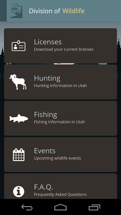 Utah hunting and fishing android apps on google play for Utah hunting and fishing mobile app