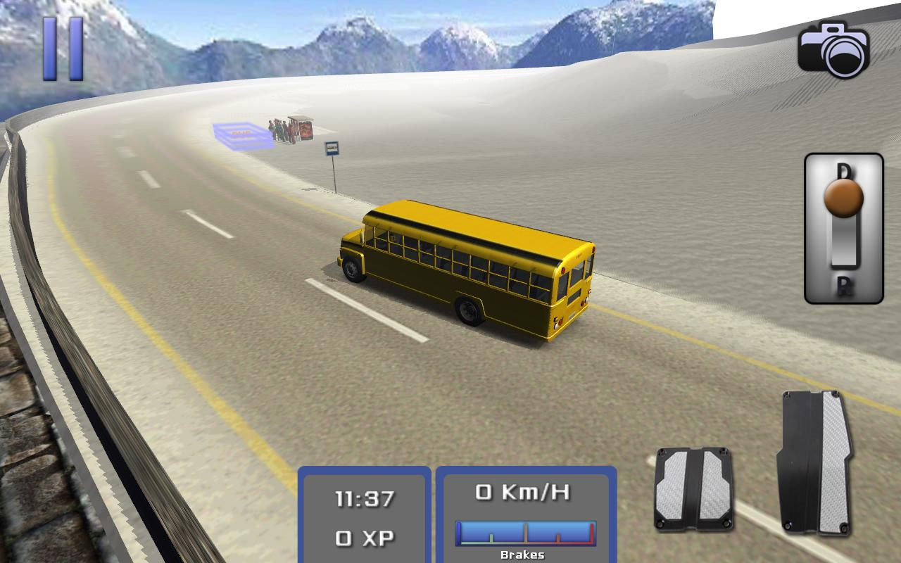 Bus Simulator 3D - screenshot