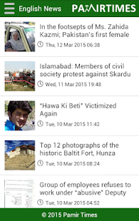 Pamir Times- screenshot thumbnail