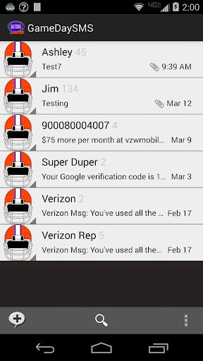GameDay SMS - Florida