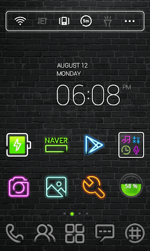 Neon Sign dodol Theme
