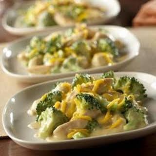 2-Step Skillet Chicken Broccoli Divan.