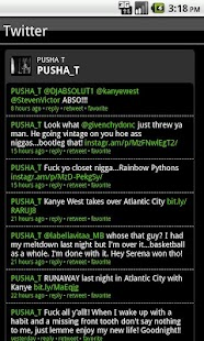 Pusha T Fan App - screenshot thumbnail